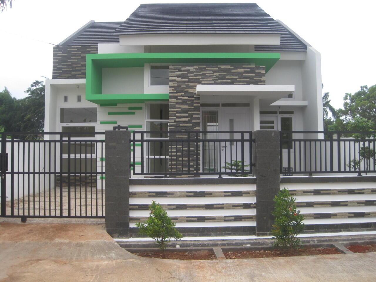cari rumah minimalis cantik berkualitas dekat 3 pintu