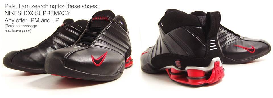 Sepatu Basket Nike Shox