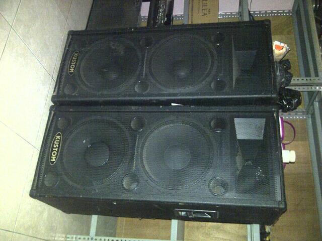 Speaker Sound System 3 Way 2x15 2x12
