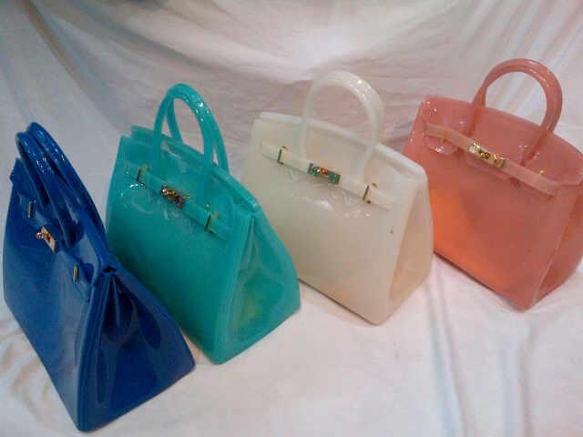 hermes kelly jelly beach bag