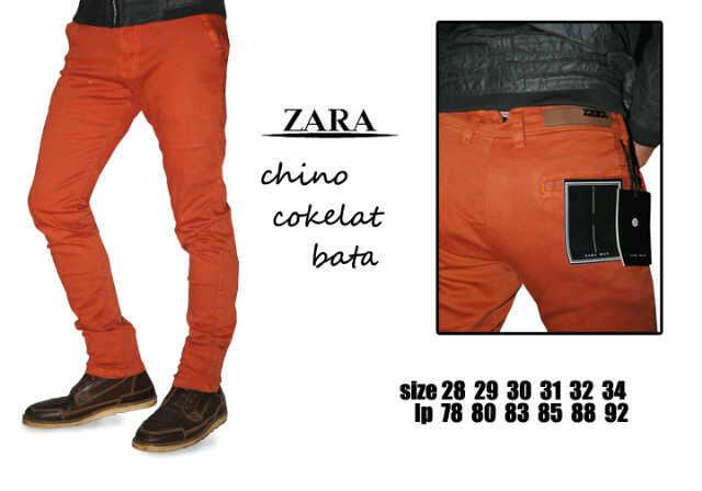 Celana Chino Zara DC Dll Terlengkap Amp Termurah