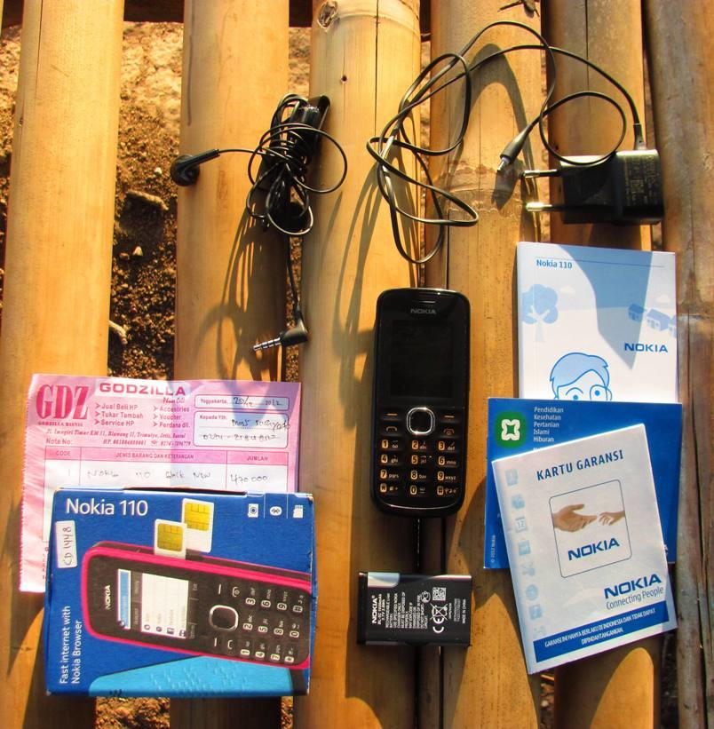 Terjual Nokia 110 (Dual SIM) Free Ongkir Pulau Jawa