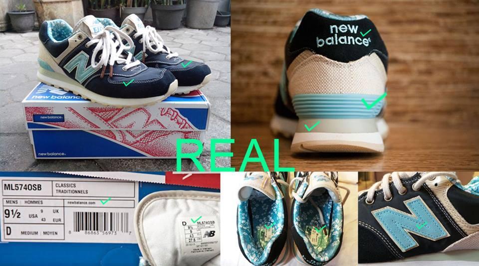 new balance original vs fake