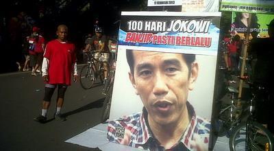 Hasil gambar untuk janji jokowi tidak banjir kalau jadi presiden