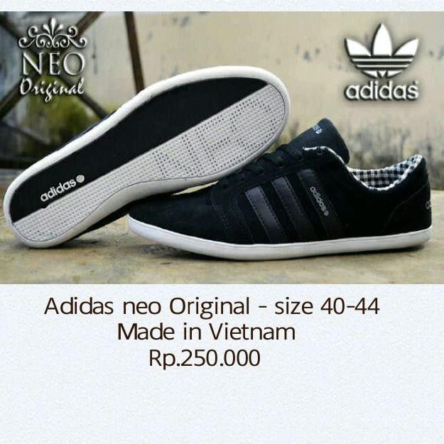 harga sepatu adidas neo made in vietnam