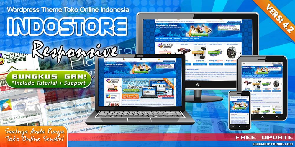 template toko online wordpress