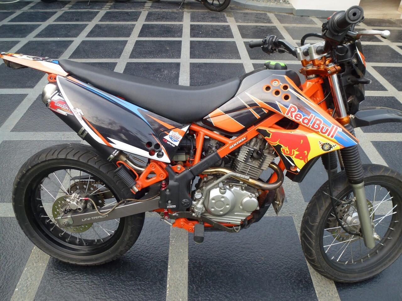 Kawasaki D Tracker Modifikasi Supermoto Kawasaki Klx 150