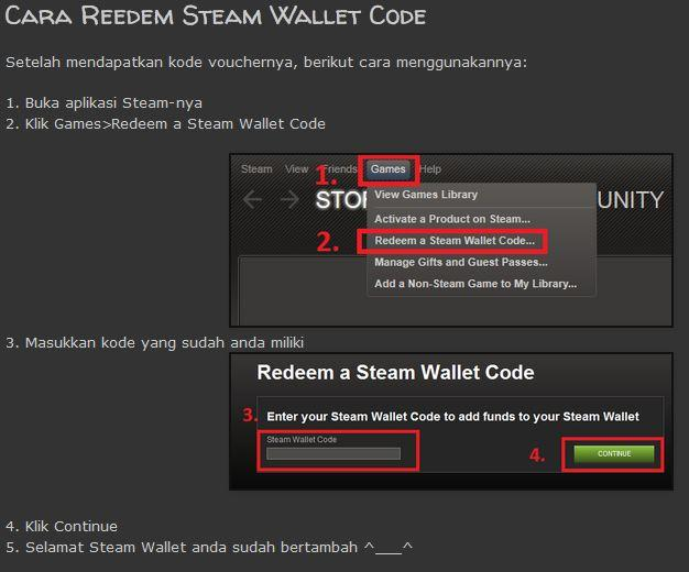 Steam Online: Steam Online Redeem Code