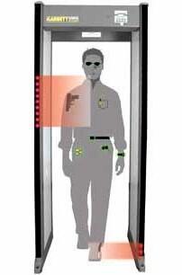 ceia walk through metal detector manual