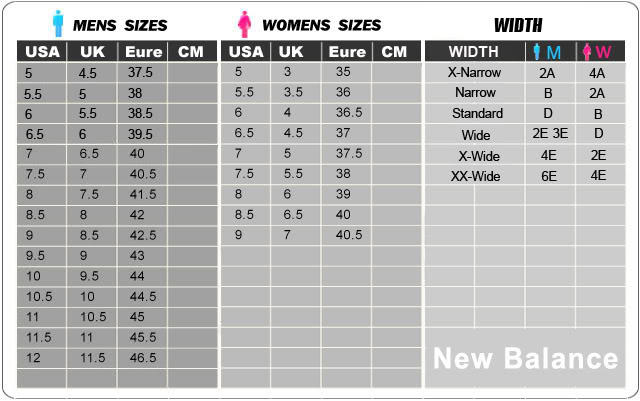 size new balance 574