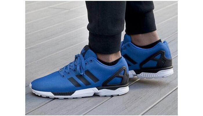 adidas zx flux blu elettrico