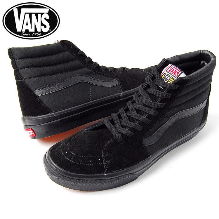 Vans Hi Tops Black