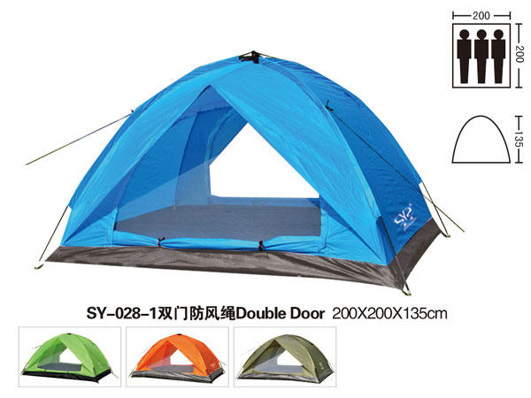 Tenda Dome SY 028 Single Layer Water Proof Kap 4 Person