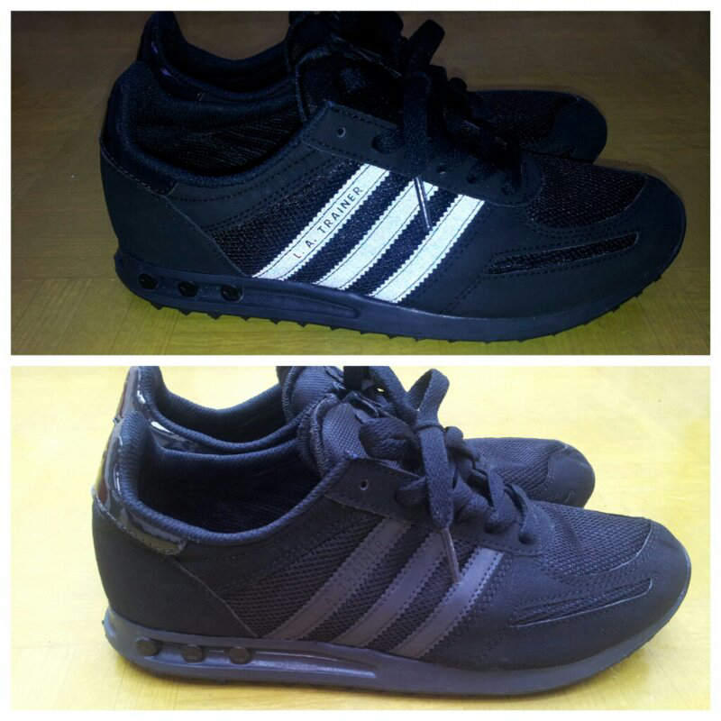 Adidas La Trainer Full Black