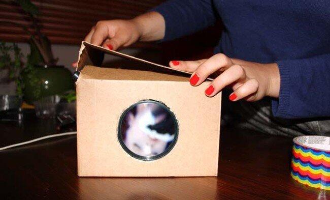 Как сделать дома проектор своими руками