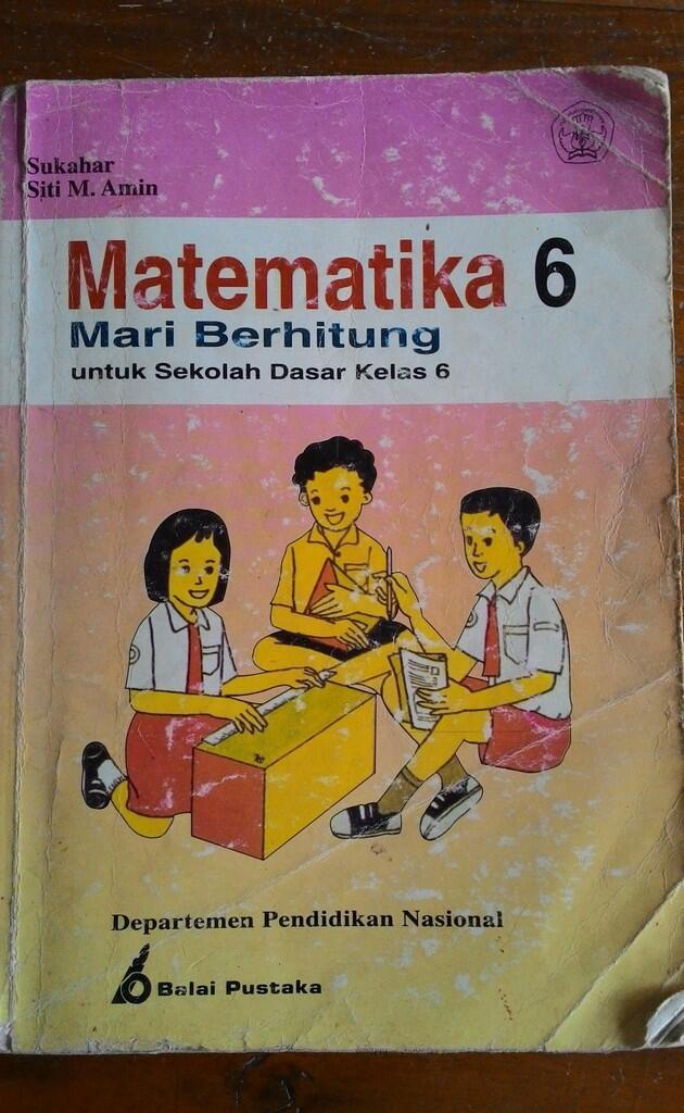 Hasil gambar untuk gambar buku paket pelajaran era 90 an