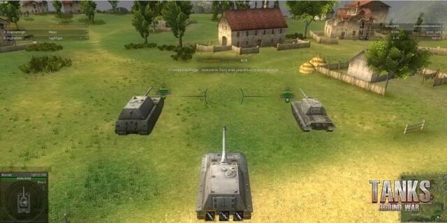 Ground War: Tanks — характеристики и описание игры