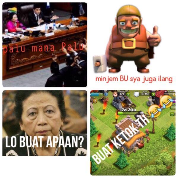 Koleksi Lucu Meme Clash Of Clans Update