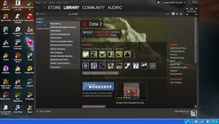 cara memperbaiki login dota 2 yang tidak bisa masuk ke dalam game