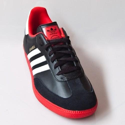 adidas samba red shoes