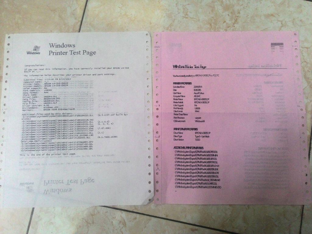 Printer Epson Lx 310 Hasil Cetakan Mepet Sampai Tidak Terbaca Pada Windows 8 Kaskus