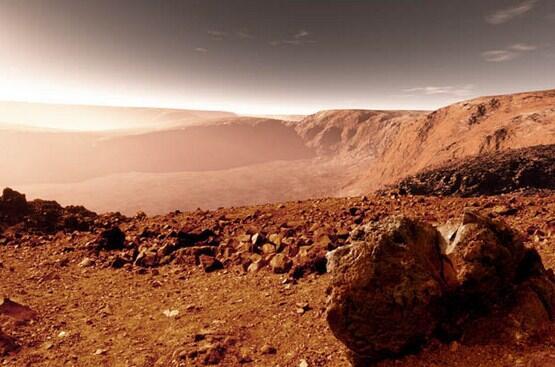 NASA MENEMUKAN PATUNG MIRIP MANUSIA DI PLANET MARS