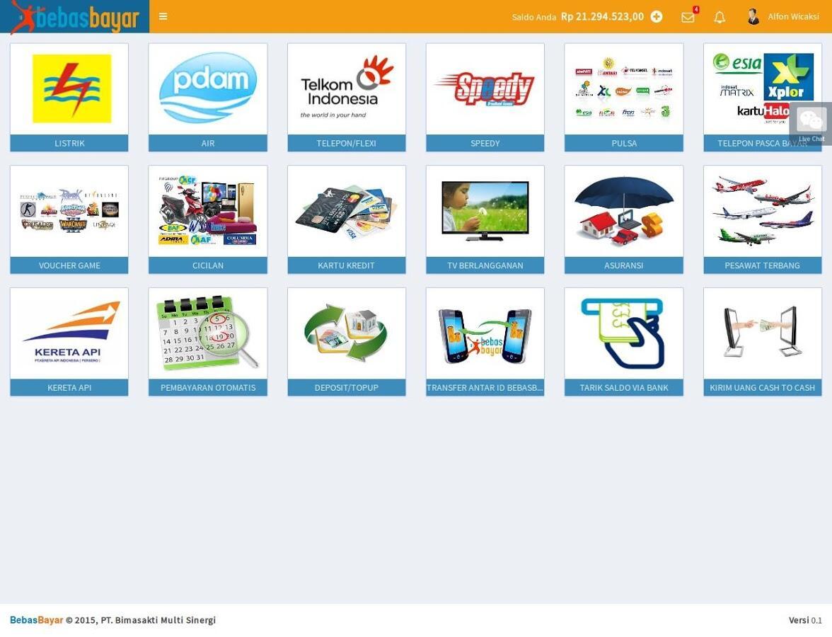 Pendaftaran PPOB Gratis Via Android