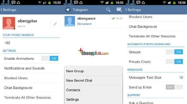 Telegram Messenger - The Fastest Messaging Apps | KASKUS