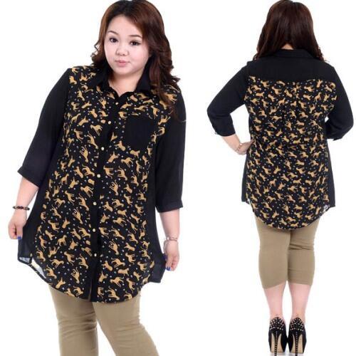 Khusus Wanita 4 Model Baju Untuk Orang Gemuk Agak Tampak Langsing Kaskus