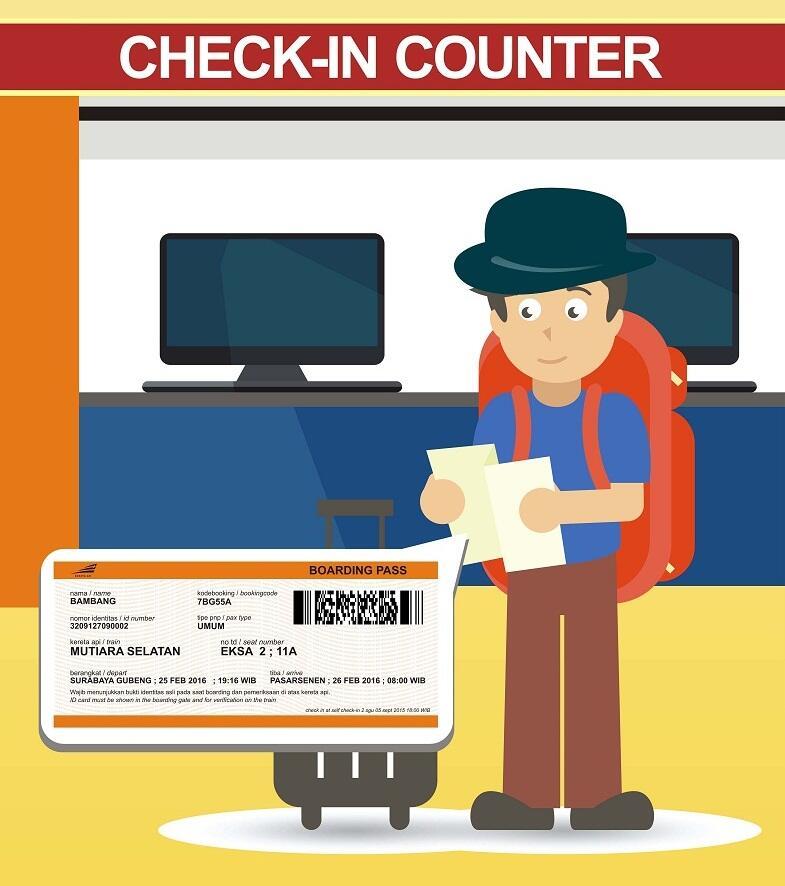 Terbaru Sistem Check In Dan Boarding Pass Untuk Kereta Api Kaskus