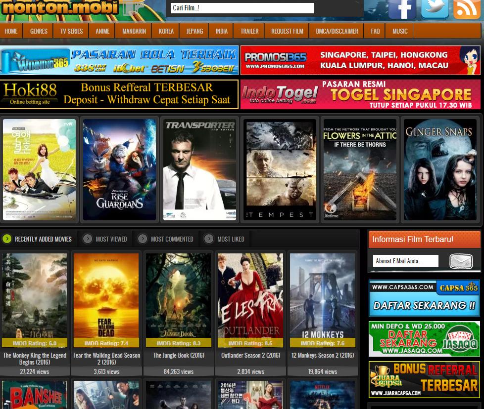 Kumpulan Website Streaming Film Online Subtitle Indonesia ...