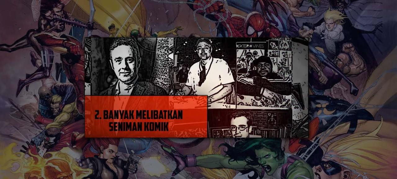8 Fakta Civil War Comic