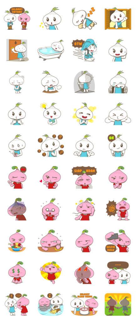 Line sticker baru dari creator indonesia