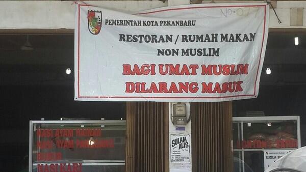 Warung di Pekanbaru Boleh Buka Selama Ramadan Asal Pasang Spanduk