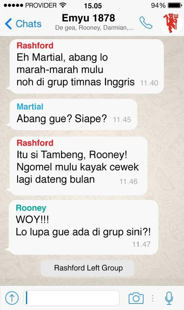 Isi Grup Whatsapp Para Pemain EURO 2016