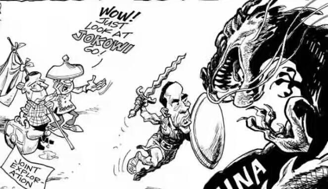 Media Filipina Rilis Karikatur Jokowi Serbu China | KASKUS Kaskus Media Filipina Rilis Karikatur Jokowi Serbu China