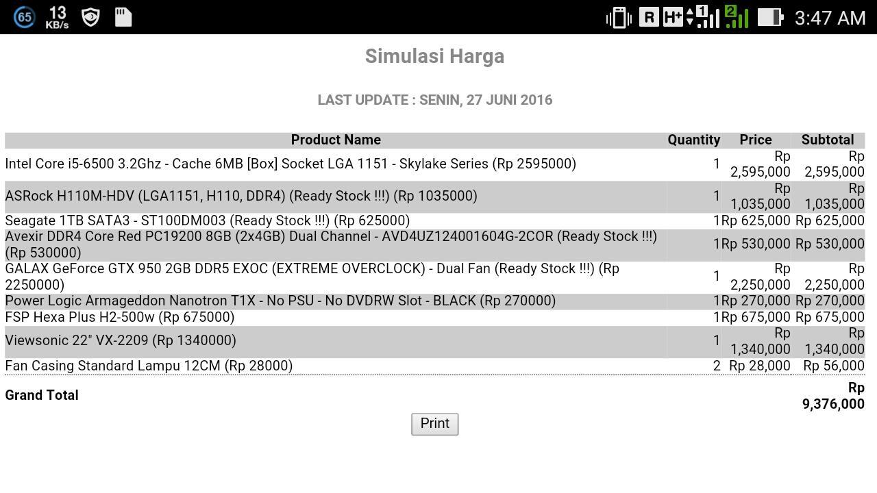 Dwicahyamade Kaskus Intel Core I5 6400 27ghz Cache 6mb Box Socket Lga 1151 Skylake Series
