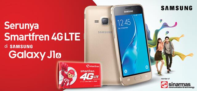 Smartfren 4g Lte Udah Bisa Agan Rasain Di Samsung Galaxy J1 2016