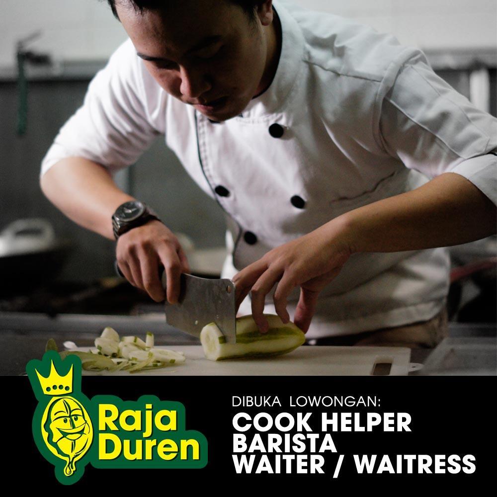 lowongan cook helper barista waiter waitress di raja duren kaskus