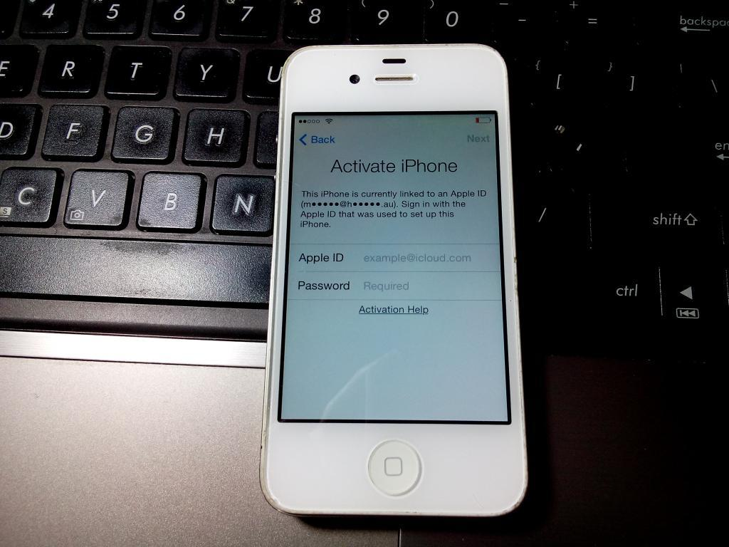 Iphone 4s 16 Gb Icloud Lock (no Message, No Lost Mode, Dll) How To Reset  Your Apple Id