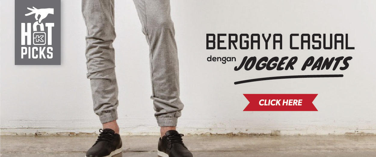 Hot Picks: Bergaya Casual Dengan Jogger Pants