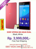 new SONY XPERIA M4 AQUA DUAL READY