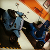 vespa s 2012 full custom, s 2013 few upgrades