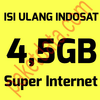 Inject / Top Up indosat mentari / im3 11GB, 13GB, 3GB 3 Bulan