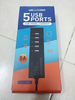 Travel Charger Wellcomm 5 USB Ports Total Output 5A Real (Surabaya)