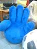 Sofa tangan bahan boneka