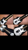 Gitar elektrik Ibanez Seven Updown White + Amply Esteban Bogor