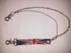 Rantai utk dompet bendera Inggris, keren dan langka