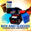 BOX n CARD SLEEVES - Pelindung & Tempat Kartu HIGH QUALITY - Ultra Pro, Etc