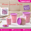 Mosaic canister (4)Tupperware
